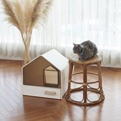 [세븐펫] 고양이 화장실 묘래집_(1361638)