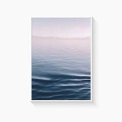 바다 포스터 인테리어 액자 _ 핑크빛바다
