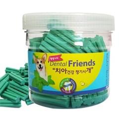 강아지 치아 건강 덴탈 프랜즈 민트 300g 치석 제거