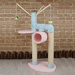 반려묘 스크래치 기둥 캣타워 고양이 놀이터 용품