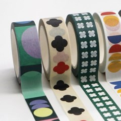 마스킹테이프 MOONY MANY MORE PATTERN MASKING TAPE_(1169021)