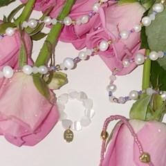 no.3 pink lady 3set bracelet