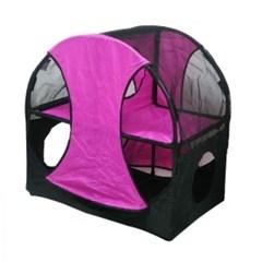 고양이집 퍼피 캣 빌라 텐트 하우스 반려묘 6마리