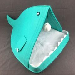 상어 고양이 캣 하우스