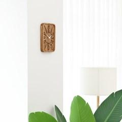 자연을 집안으로~ 원목 트레이 인테리어 벽시계