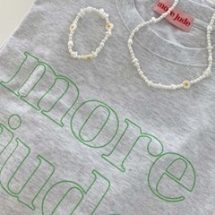 morejude logo t-shirt gray