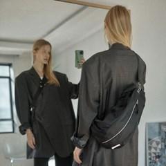 [21SS] FENNEC DUFFLE SLING BAG - BLACK