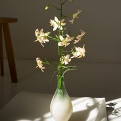 LOD Beige Degrade Glass Vase 화병