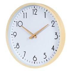 아날로그 리얼우드 무소음 나무 벽걸이 시계 GW004-AI