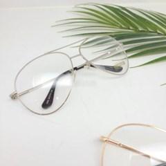 둥근 심플 금테 가벼운 도수없는 데일리 패션 안경