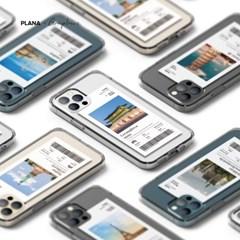 PLANA 세계여행 시리즈 갤럭시 S21 아이폰 12 투명 케이스