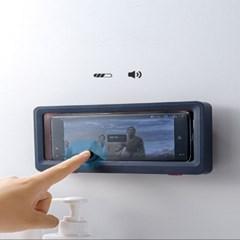 완전 편해 스마트폰 핸드폰 욕실 방수 거치대 샤워