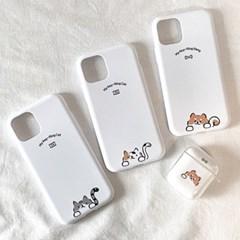 [마이 키링] 강아지 아이폰 갤럭시 폰 케이스 6종