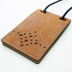 ID & 카드 목걸이 (플립형 V1 - 카우)
