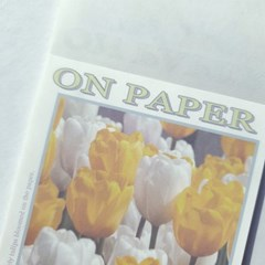 on paper 메모지