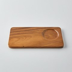 [모던하우스] L 아카시아나무 직사각 디저트쟁반 28X15