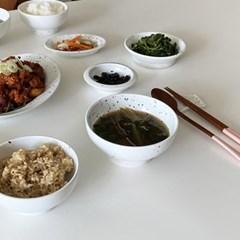 [폴라앳홈] 얼반시리즈 (얼飯) 밥 국 수저받침 3종 세트
