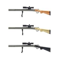 스나이퍼 저격총 밀리터리 게임 kar98k 총 모양 검은색_(1319058)