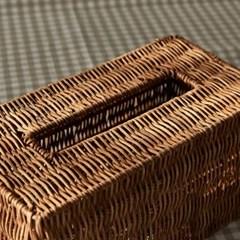 [모던하우스] L 손으로 만든 라탄 사각 티슈케이스