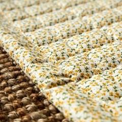 [모던하우스] L 여리여리한 잔꽃 발매트 40X60 노랑