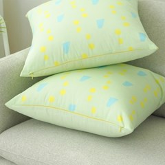[cushion cover] spring green