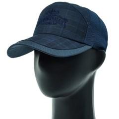 KJO01.메쉬 체크 중년 남성 캡모자 봄 여름 등산 모자