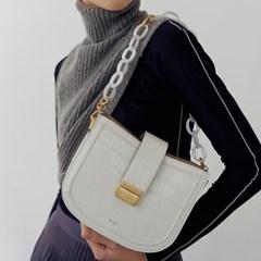 Brick bag (Croc brown)