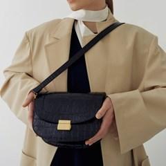 Brick classic bag (Croc brown)