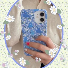 [뮤즈무드] Blue Family 아이폰케이스