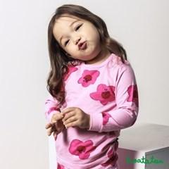 호아따따 진달래 피톤치드 무형광 9부 유아실내복