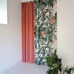 ANGLE ORANGE CURTAIN