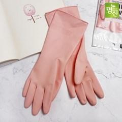 명진 러블리한 베이비핑크 고무장갑 5개세트