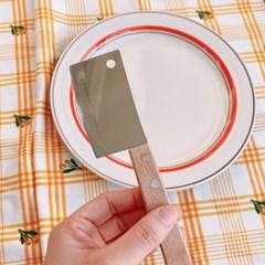 우드 손잡이 도끼칼 미니 나이프 미니칼