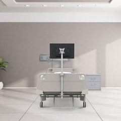 [카멜마운트] 병원 침대용 모니터 거치대 HBA-S