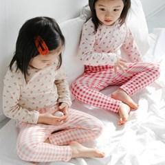 오) 꽃나염 아동 실내복