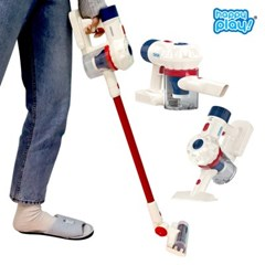 해피플레이 3in1 리얼 무선 청소기 장난감 소꿉놀이 어린이 유아