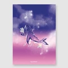 고래의꿈 A3 포스터