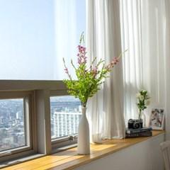 설유화 싸리꽃 조팝 꽃 조화가지