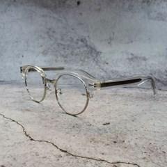 반테 투명 가벼운 도수없는 데일리 패션 안경