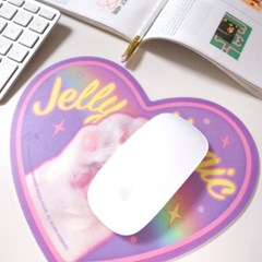 Boss Cat Mouse Pad_Violet