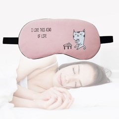 캐릭터 눈 찜질 눈가리개 수면 안대 도티 티타임캣