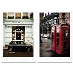 런던 엽서 10P세트