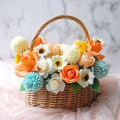 봄내음 비누꽃바구니 기념일선물