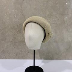리본 기본 심플 데일리 꾸안꾸 패션 블랙 베레모 모자