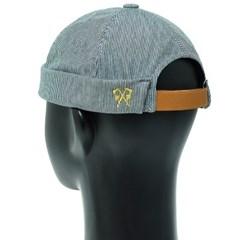 KHH05.스트라이프 와치캡 숏비니 봄 여름 남성 캐쥬얼 모자