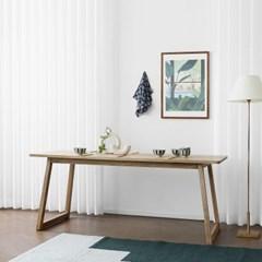 [애쉬턴내츄럴] 6인용식탁/테이블 1800_(1708002)
