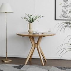 [하모니] A형 원형식탁/테이블 1000_(1708001)