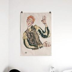패브릭 포스터 명화 그림 빈티지 감성 액자 에곤 쉴레 72