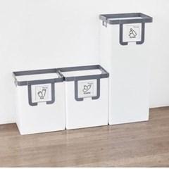 분리 수거함 쓰레기 휴지통 재활용 가정용 3칸 화이트