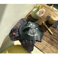 [리굿스]Smile Flower 수영모자 Black